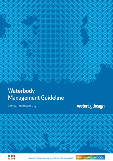 Waterbody Management Guideline