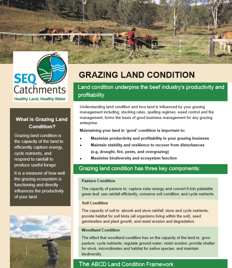Grazing Land Condition factsheet