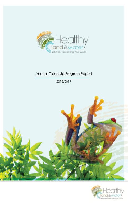 2018/2019 Clean Up Program Annual Report