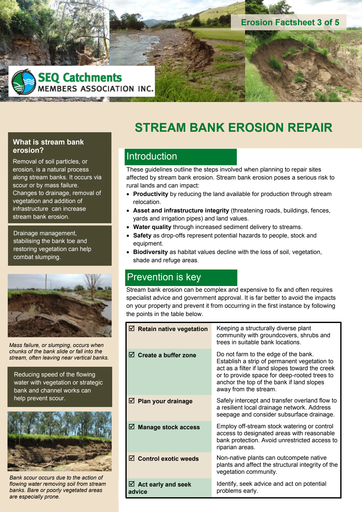 3/5: Stream Bank Erosion Repair