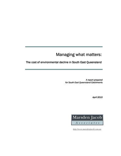2010_Managing What Matters – Full Report