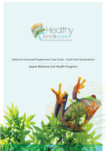 Upper Brisbane Soil Health Program