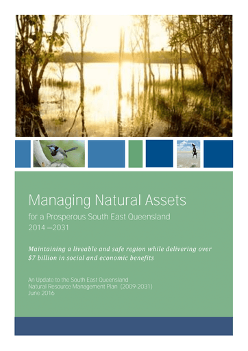 Managing Natural Assets for a Prosperous South East Queensland 2014-2031