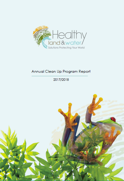 2017/2018 Clean Up Program Annual Report