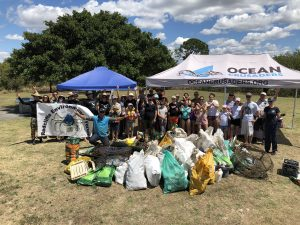 Pine River estuary clean-up